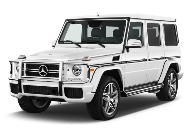Rent A Mercedes White G63 Car In Dubai, UAE