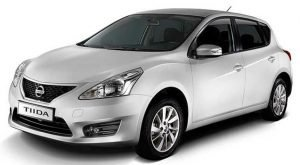 Rent Nissan Tiida at monthly Rental