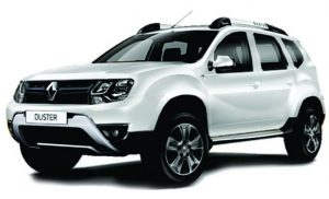 Rent Renault Duster on Lowest Price