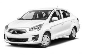 Rent Mitsubishi Attrage 2020 in Dubai