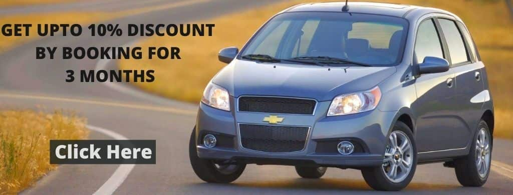 GET UPTO 10% BY BOOKING CHEVROLET AVEO FOR 3 MONTHS IN DUBAI